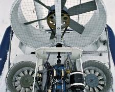 Двигатель ЗМЗ-409 вращает маршевый винт и два нагнетающих вентилятора.